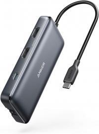 Anker 8-in-1 USB-C Hub 4K 2 HDMI