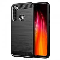 Silikoninis dėklas Carbon Case Xiaomi Redmi Note 8T