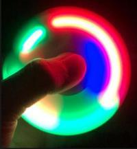ŠVIEČIANTYS FIDGET SPINNER LED