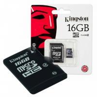 Atminties kortelė Kingston 16 GB microSD