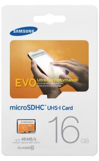Atminties kortelė Samsung 16 GB microSDHC UHS-I