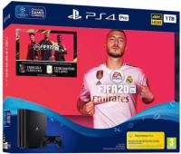 Sony Playstation 4 Pro 1TB black + FIFA 20