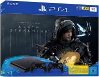 Sony Playstation 4 Slim 1TB + Death Stranding + 2 pulteliai