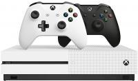 Microsoft Xbox One S 1TB + 2 pulteliai