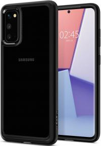 Dėklas Spigen Ultra Hybrid Galaxy S20 Matte Black