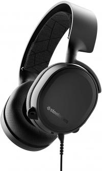 SteelSeries Arctis 3 žaidimų ausinės juodos